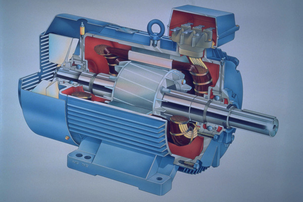 электродвигатель переменного тока однофазный