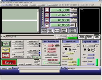 программа управления серводвигателями Mach3