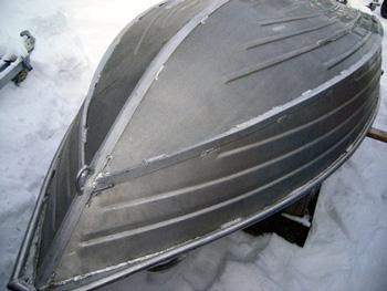 Лодка килевая