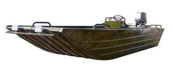 Плоскодонная лодка
