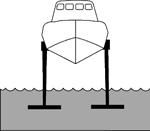 Крыло полностью погруженное в воду