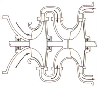 Центробежный компрессор двухступенчатая ступень сжатия