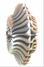 центробежный компрессор с двусторонним входом и двусторонним колесом
