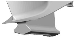 Большое распространение получило крепление лопаток с помощью трапециевидного паза («ласточкин хвост»).