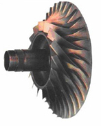 центробежный компрессор с односторонним входом и односторонним колесом