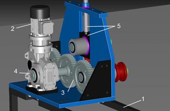 Трубогиб с механическим приводом включает в себя следующие узлы