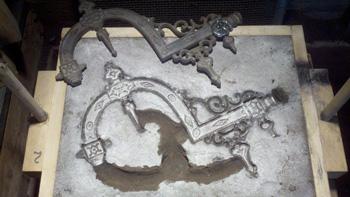 Литье в песчано глинистые формы