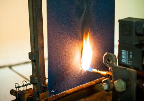 Термостойкие ткани, огнеупорная ткань